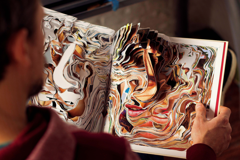 Magazine cutout series