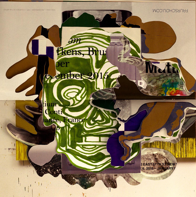 Artforum mashup cutout no glue collage