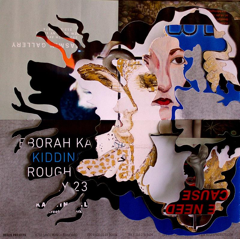 Artforum paper cutout