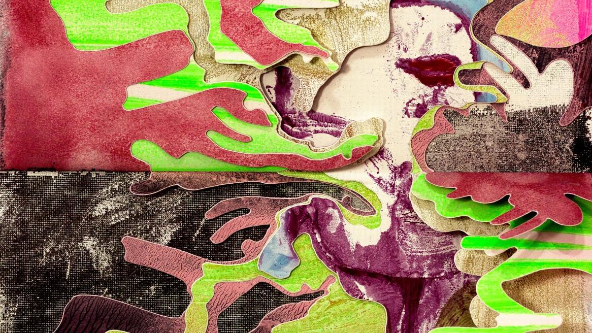 wax painting cutout