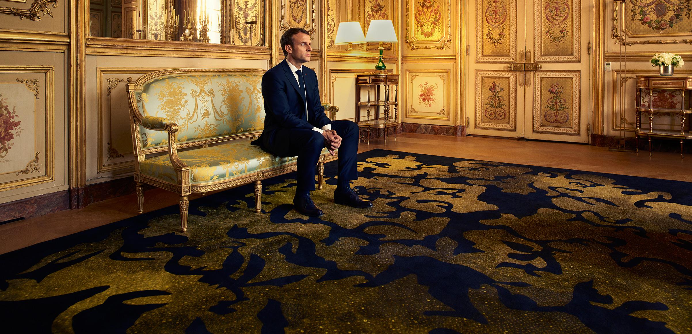Savonnerie Carpet at the Salon Dore